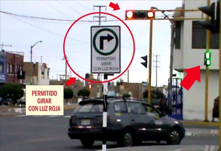 Señal de tránsito que atenta contra la vida de peatones ileños