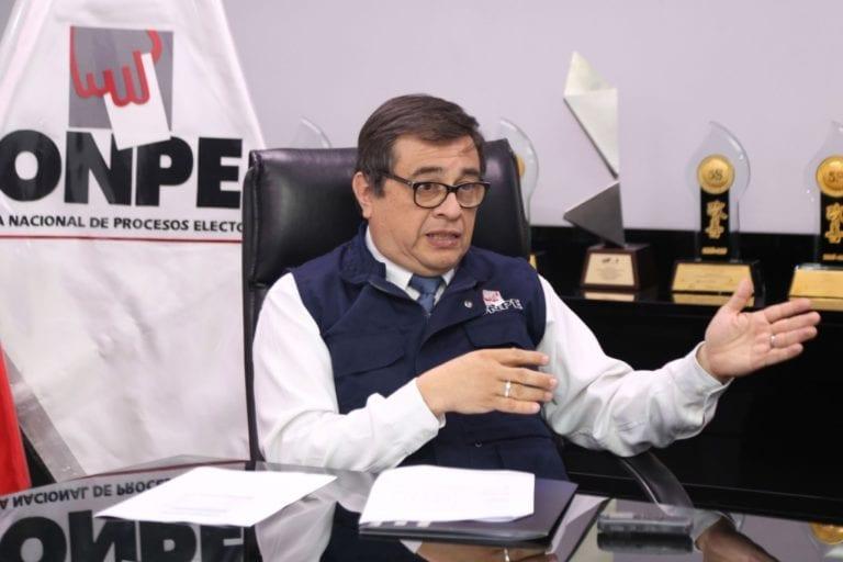 CNM abre procedimiento disciplinario al jefe de la ONPE