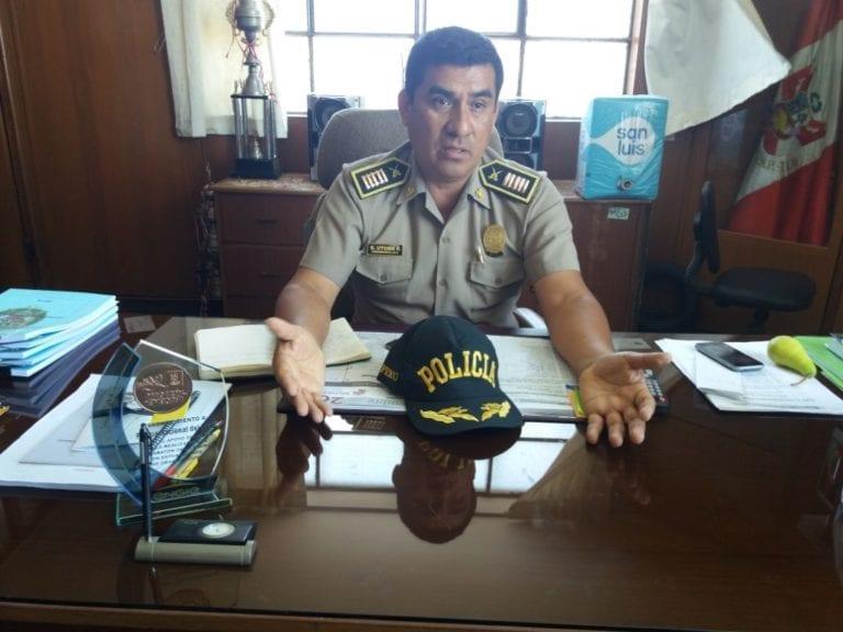 Policía Nacional de Ilo interviene a presunta banda delincuencial
