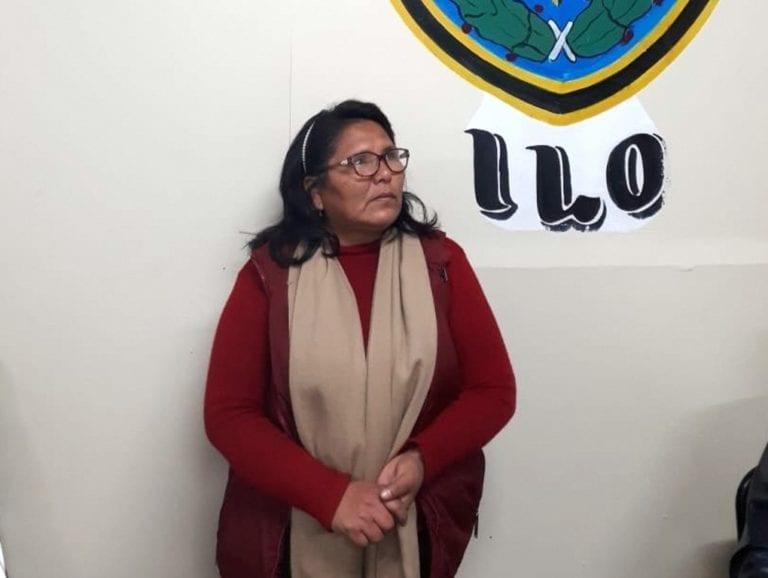 Mujer es intervenida en posesión de pasta básica de cocaína en Pampa Inalámbrica