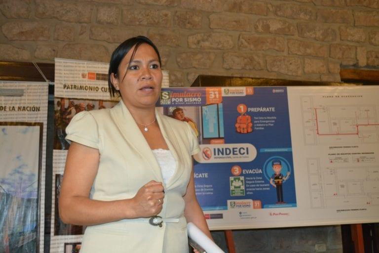 Designan nueva titular de la Dirección Desconcentrada de Cultura de Moquegua