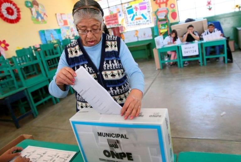 Elecciones 2018: Se necesita el 30% de votos para ser gobernador regional