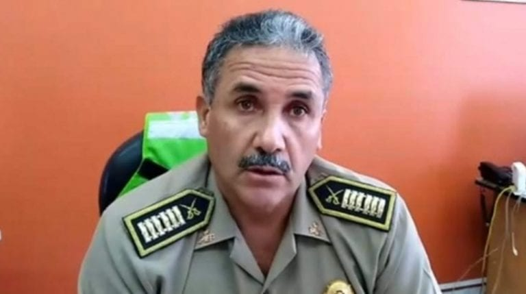 Cambian a jefe de la Región Policial de Moquegua coronel Herbert Espinoza