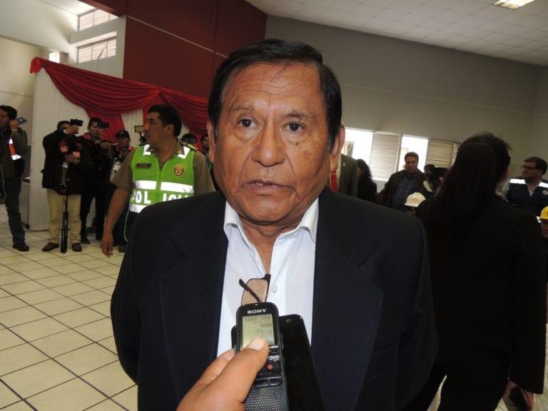 Zenón Cuevas califica como conducta beligerante y provocadora el actuar de Walter Aduviri