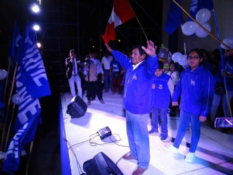 Zenón Cuevas agradeció apoyo y lanzó duro mensaje