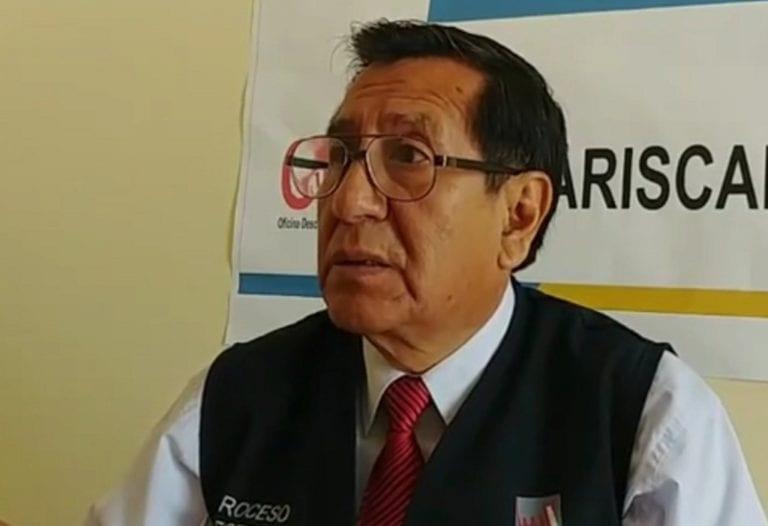 Material electoral para el referéndum se despliega en la región Moquegua