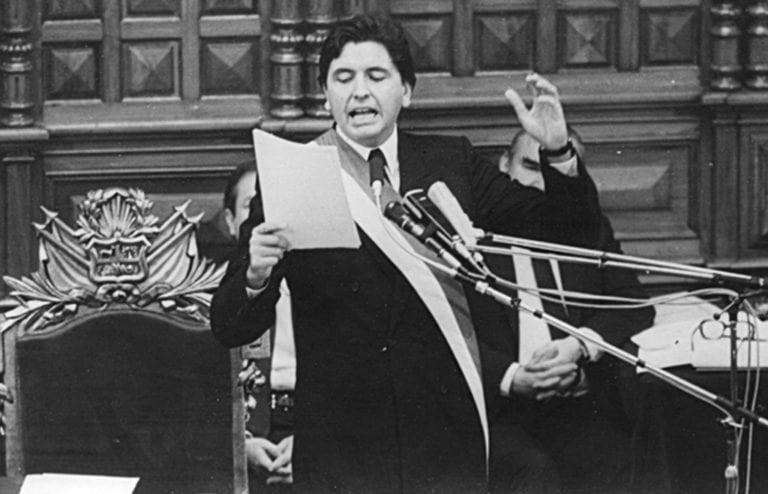 Alan García: el legado de una crisis