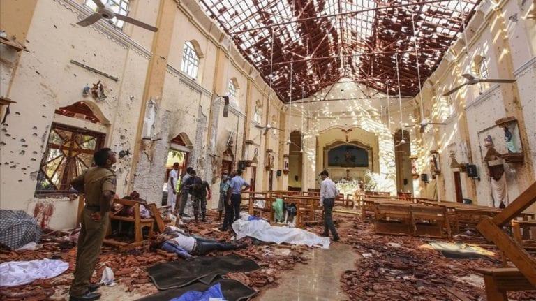 Masacre terrorista en Sri Lanka deja más de 200 muertos