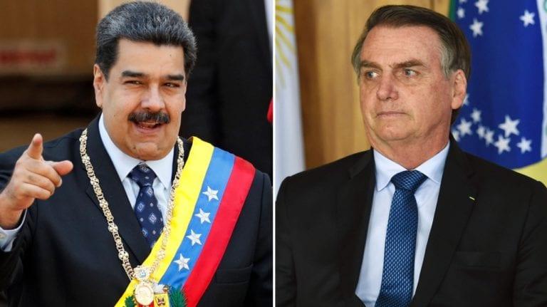 Maduro pide a militares de Brasil parar «la locura de Bolsonaro y su amenaza de guerra a Venezuela»