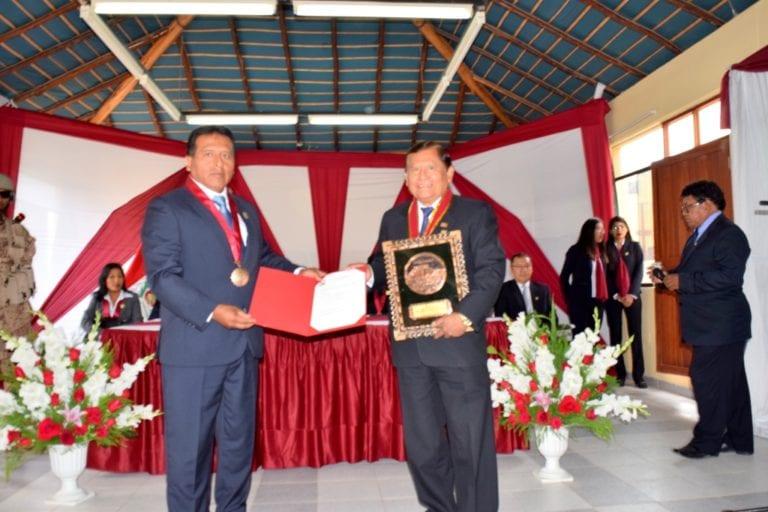 Zenón Cuevas fue reconocido por su valioso apoyo y compromiso con El Algarrobal