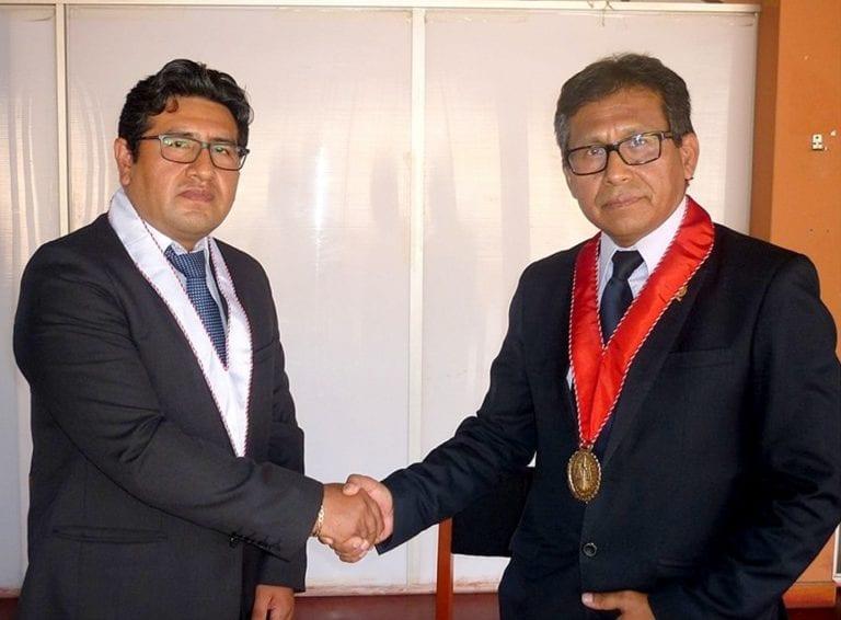 Walker Ríos Calizaya asumió coordinación de fiscalía 'anticorrupción'
