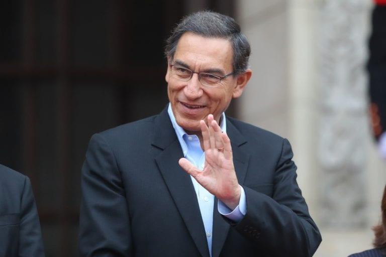 Presidente Vizcarra: «Unidos vamos a sacar la reforma política y judicial»