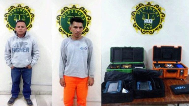 Intervienen a dos venezolanos que robaron cuantiosos equipos en Moquegua