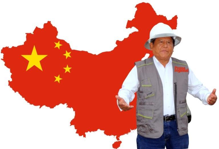 Consejo regional aprueba viaje del gobernador regional Zenón Cuevas a China