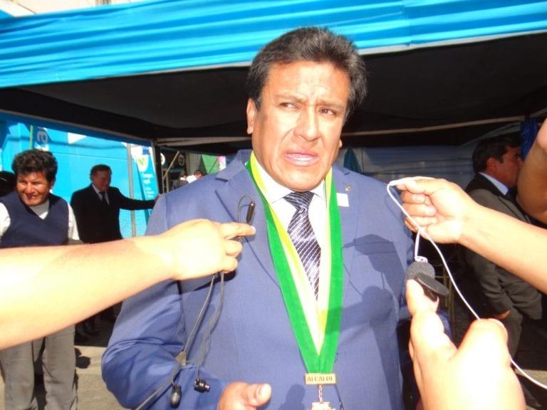 Alcalde de Samegua en desacuerdo de hacer proyectos de un millón