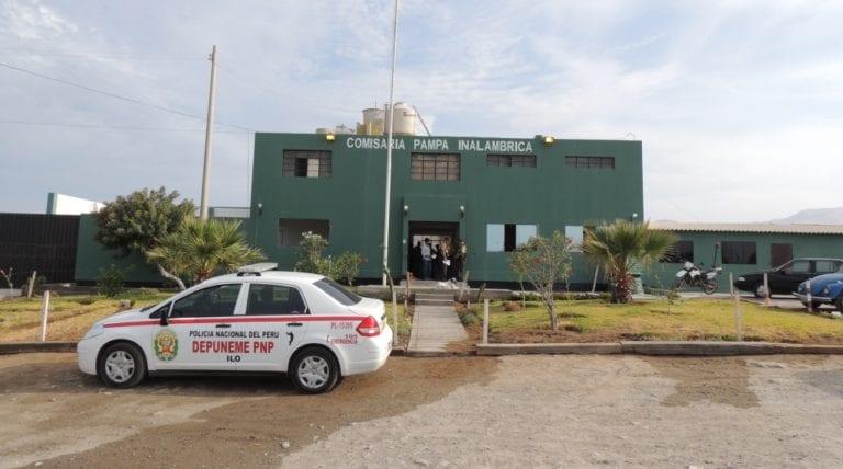 Policía Nacional recupera motocicleta sustraída en Alto Ilo