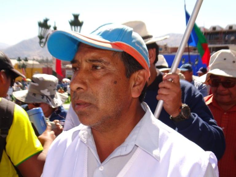 Dirigente Oscar Zeballos lamentó que un grupo de ciudadanos pretenda imponer memorial