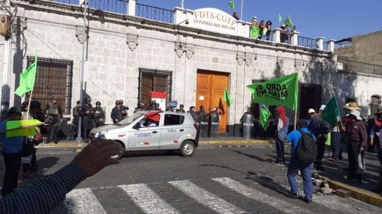 No hay tregua en Arequipa, pero hay compromisos