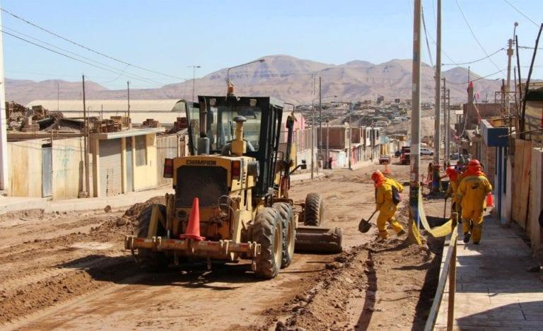 En noviembre culminan obras en avenidas de San Antonio