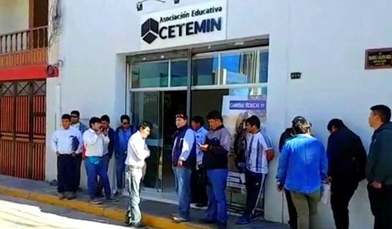 Conductores protestan por postergación modificación en capacitación para Quellaveco