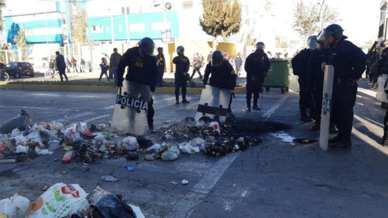 Ministerio Público en Arequipa investiga daños ocasionados en paralización