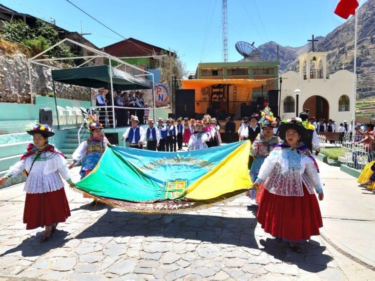 Comunidad campesina de Somoa celebró su 25° aniversario