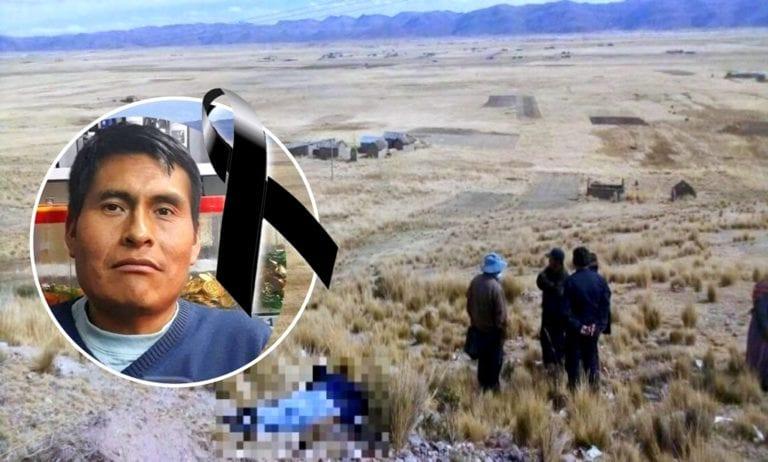 Joven que fue encontrado sin vida en Puno, es de Ichuña