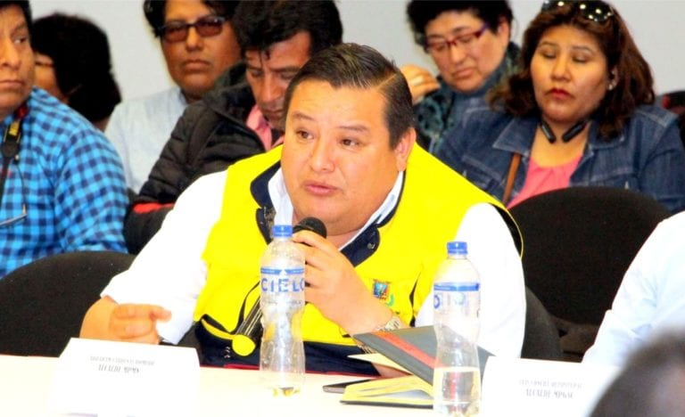 Alcalde reitera que, por ahora, no regresará al Comité de Monitoreo de Quellaveco