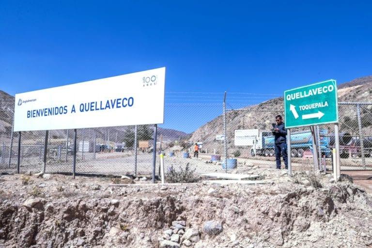Dos trabajadores del proyecto minero Quellaveco dieron positivo para COVID-19