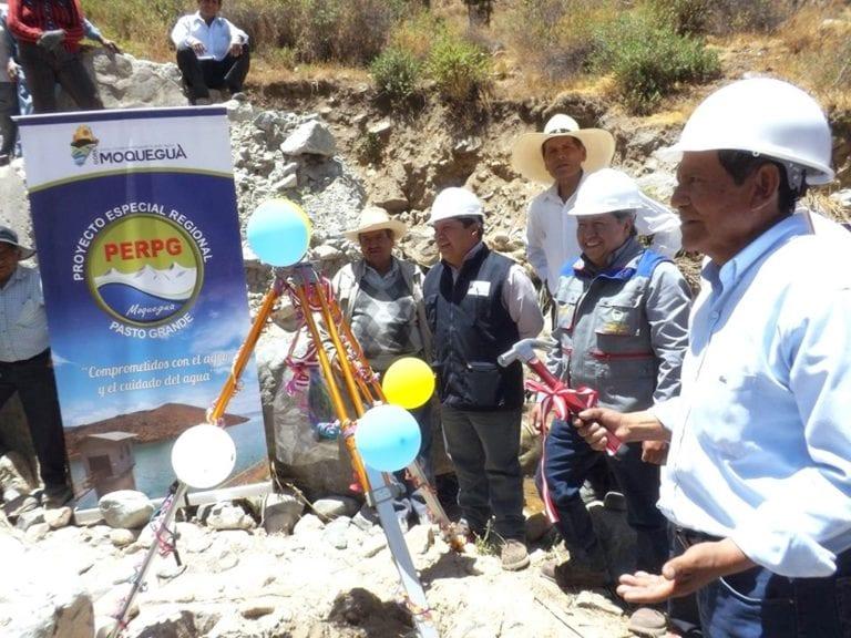 Invertirán más de 30 millones para separación de aguas en Coalaque