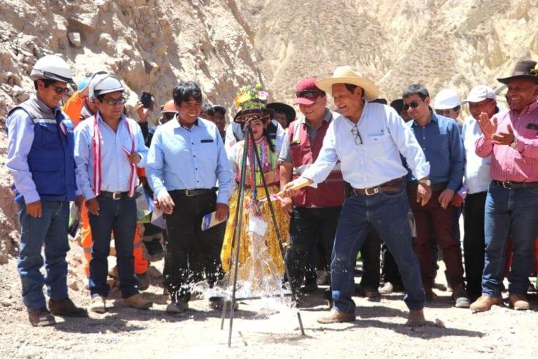 Aperturan acceso vial Yojo – Yaragua – Quinistaquillas