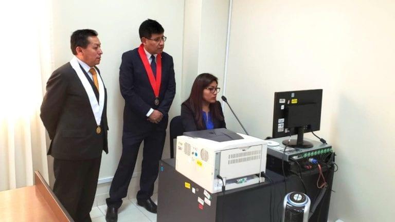 Juzgados civiles iniciaron la grabación de audiencias en audio y video