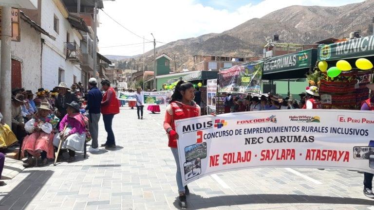 Segundo concurso de emprendimientos rurales en Carumas