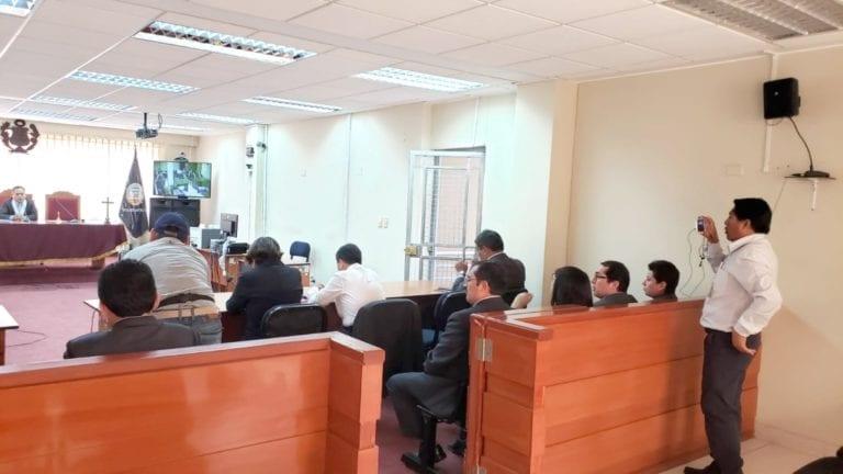 Jueces de Moquegua se declararon en sesión permanente