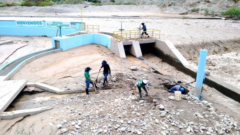 Nuevo ingreso de río afectó fundos en la parte alta de El Algarrobal