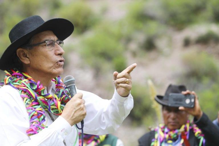 En marzo: presidente Vizcarra anuncia culminación de estudios para represa de Yanapuquio