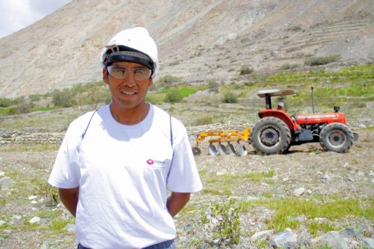 Southern Peru capacita a pobladores de Curibaya