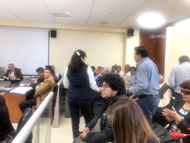 Inician juicio oral a 16 acusados por protestas contra Tía María en el 2015