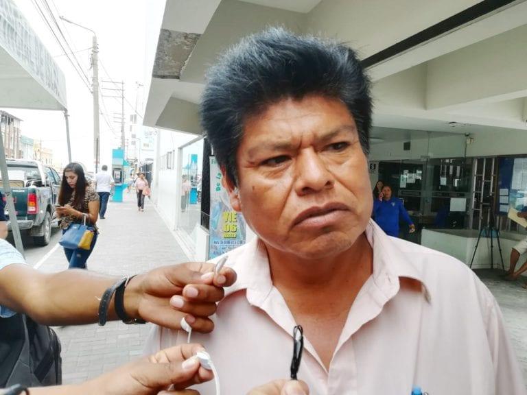 """Miguel Meza: """"Estamos dando la cara en el juicio"""""""