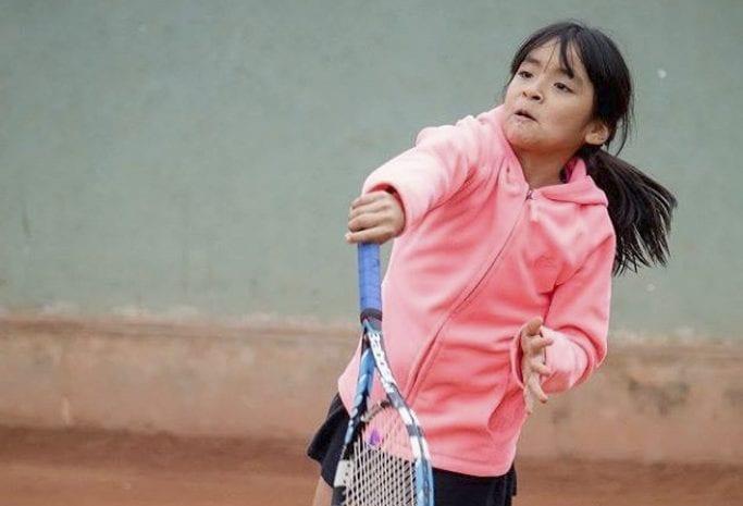El flagelo mundial impidió a niña tenista ileña competir en la ciudad de Trujillo