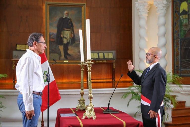 Víctor Zamora Mesía juró como nuevo ministro de Salud