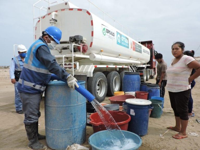 EPS Ilo brinda agua potable gratuita a unas 530 familias