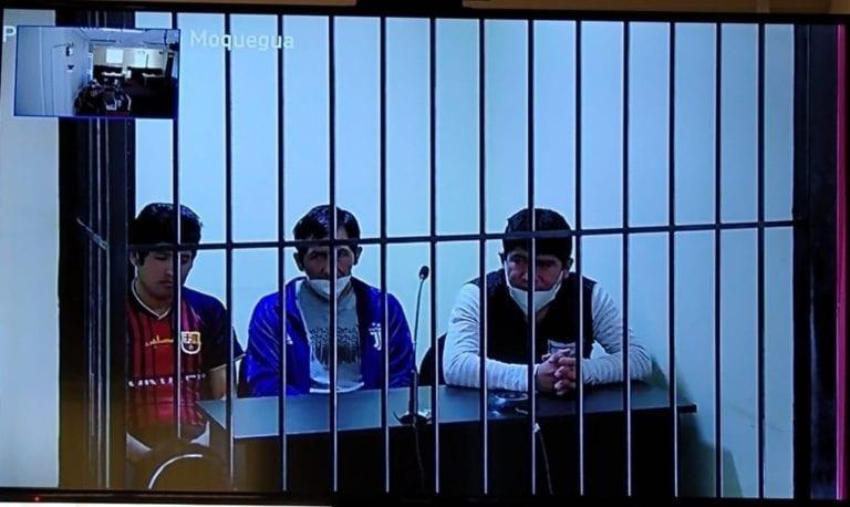 Sentencian a dos varones por drogas vía juicio virtual