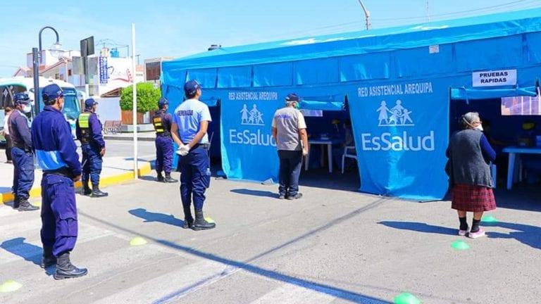 Covid-19: Dos casos positivos en Punta de Bombón dieron negativo a prueba molecular