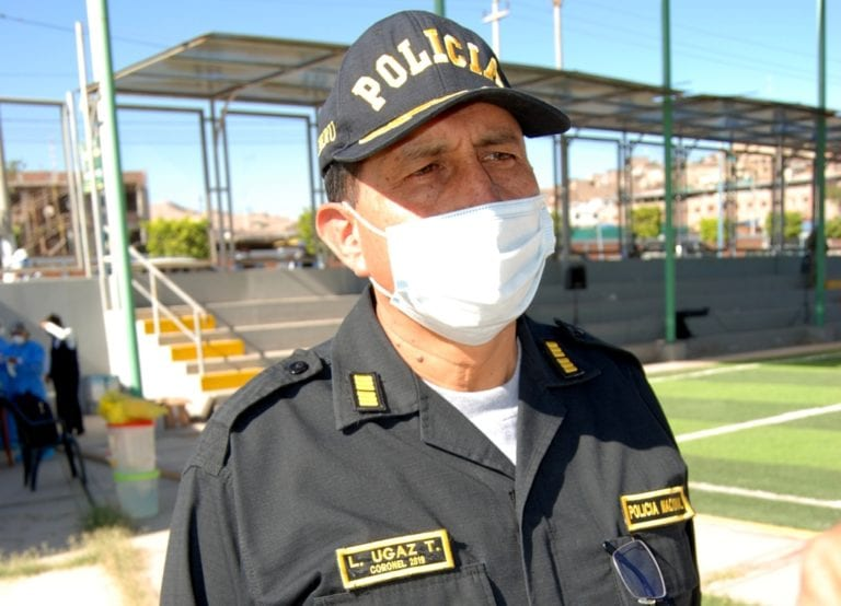 COVID-19: 211 policías se contagiaron en la región Moquegua