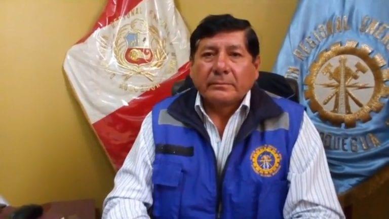 Gerente regional de Energía y Minas informa sobre personal que está movilizando Quellaveco
