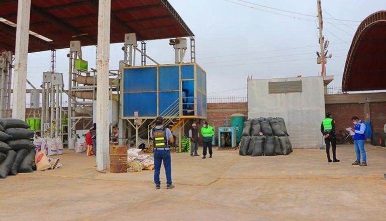 Comité agrario fiscaliza molino arrocero en Punta de Bombón