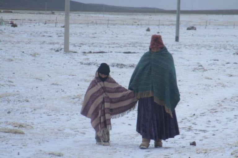 Pronóstico de descenso de temperatura nocturna para la sierra de Moquegua
