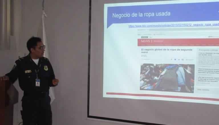 """Integrantes de """"Comando de lucha contra el contrabando"""" participan de capacitación"""