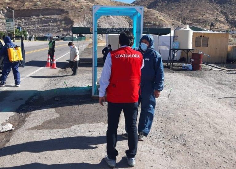 En Torata compraron cabinas desinfectantes que son perjudiciales para salud